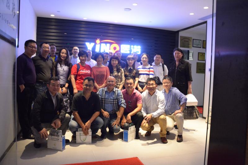 中欧国际工商学院智慧医疗创业课程企业家参访深圳mg4355官网公司
